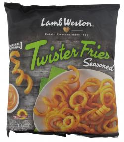 Lamb Weston Twister Fries  (600 g) - 8711571013253