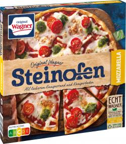 Original Wagner Steinofen Pizza Mozzarella  (350 g) - 4009233003952