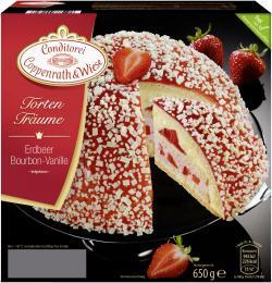 Coppenrath & Wiese Torten-Träume Erdbeer Bourbon-Vanille  (650 g) - 4008577001846