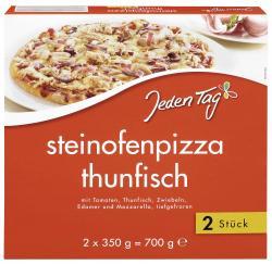 Jeden Tag Steinofenpizza Thunfisch  (2 x 350 g) - 4306188820116