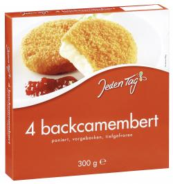 Jeden Tag Backcamembert  (4 x 75 g) - 4306188819899