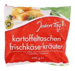 Jeden Tag Kartoffeltaschen Frischk�se-Kr�uter  (600 g) - 4003880132348