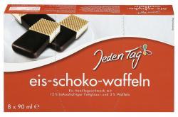 Jeden Tag Eis-Schoko-Waffeln  (8 x 90 ml) - 4306188819974