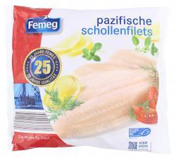Femeg Pazifische Schollen Filets  (720 g) - 4012481519250