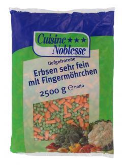 Cuisine Noblesse Erbsen mit Fingermöhren sehr fein  (2,50 kg) - 4306283120104