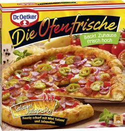 Dr. Oetker Die Ofenfrische Pizza Salami-Jalapeno  (415 g) - 4001724008927