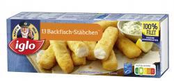 Iglo Backfischstäbchen  (364 g) - 4250241204170