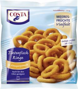 Costa Tintenfischringe in Kunsperpanade  (400 g) - 4008467007750