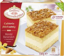 Coppenrath & Wiese Cafeteria fein & sahnig Mandel-Bienenstich  (530 g) - 4008577020267