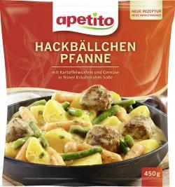 Apetito Hackbällchen Pfanne  (450 g) - 4006624070753