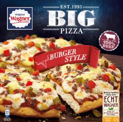 Original Wagner Big Pizza Burger Style  (430 g) - 7613034731753