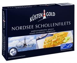 Küstengold Nordsee Schollenfilets  (250 g) - 4250426215212