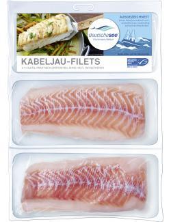 Deutsche See Kabeljaufilets  (2 x 160 g) - 4009239873641