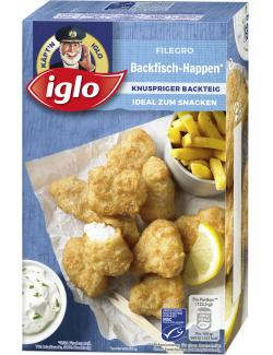 Iglo Filegro Backfisch-Happen  (245 g) - 4250241206594
