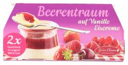 Gelato Classico Beerentraum auf Vanille Eiscreme im Weck-Glas  (2 x 175 ml) - 4250367512227