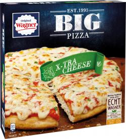Original Wagner Big Pizza X-tra Cheese  (415 g) - 7613035299634