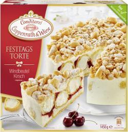 Coppenrath & Wiese Festtagstorte Windbeutel-Kirsch  (1,45 kg) - 4008577004151