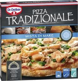 Dr. Oetker Pizza Tradizionale Mista di Mare  (395 g) - 4001724019350