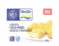 Frosta Knusper Fisch Minis Kräuter-Frischkäse  (300 g) - 4008366011087