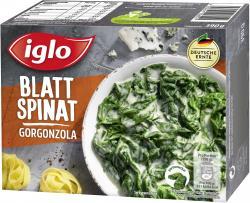 Iglo Blatt-Spinat mit Gorgonzola  (390 g) - 4250241206921