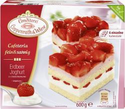 Coppenrath & Wiese Cafeteria fein & sahnig Erdbeer Joghurt  (600 g) - 4008577020373