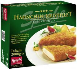 Sprehe Feinkost Hähnchen-Brustfilet paniert  (2 kg) - 4004860020556
