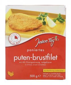 Jeden Tag Puten-Brustfilet paniert  (500 g) - 4306188820192