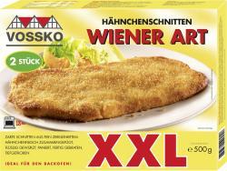 Vossko XXL Hähnchenschnitten Wiener Art  (500 g) - 4004155018992