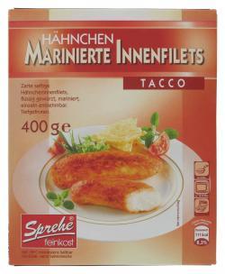 Sprehe Hähnchen marinierte Innenfilets Tacco  (400 g) - 4004860114354