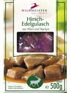 Wildmeister Hirschgulasch  (500 g) - 22113993