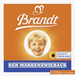 Brandt Der Markenzwieback  (225 g) - 4013752010001