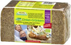 Mestemacher Bio Dinkel+Gr�nkern  (500 g) - 4000446001537