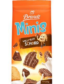 Brandt Mini Zwieback Schoko Vollmilch  (125 g) - 4013752048202