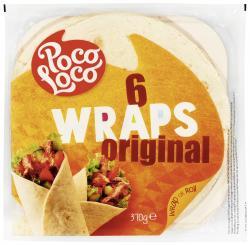 Poco Loco Wraps  (370 g) - 5412514350000