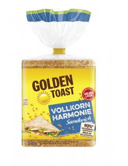 Golden Toast Vollkorn Sandwich  (375 g) - 4009249007128