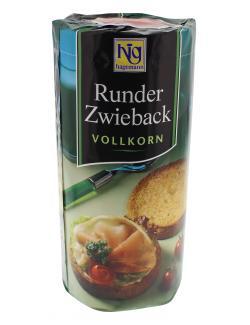 Hig Hagemann Runder Zwieback Vollkorn  (100 g) - 4009176409668