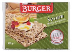 Burger Kn�ckebrot Sesam  (250 g) - 4012970011791