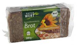 NaturWert Bio Sonnenblumenkernebrot  (500 g) - 4250780302634