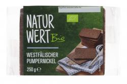NaturWert Bio Westf�lischer Pumpernickel  (250 g) - 4000446030681