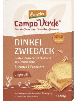 Demeter Campo Verde Zwieback Dinkel Bio  (200 g) - 4045178000557