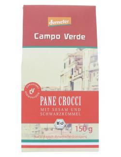 Demeter Campo Verde Pane Crocci Sesam und Schwarzk�mmel  (150 g) - 4045178002247