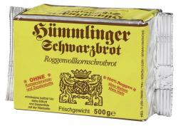H�mmlinger Schwarzbrot  (500 g) - 4008891000013