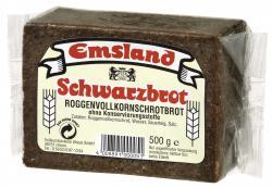 Emsland Schwarzbrot  (500 g) - 4008891000037