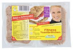Mestemacher Fitness Toastbrötchen Dreikorn  (260 g) - 6410500099062