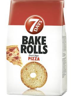 7 Days Bake Rolls Brot Chips Pizza  (250 g) - 5201360604791