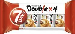 7 Days Double Croissant Kakao & Vanille  (4 x 60 g) - 5201360523726
