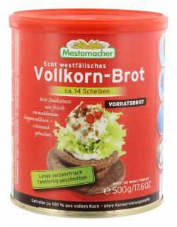 Mestemacher Vollkorn-Brot  (500 g) - 4000446001148
