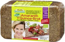 Mestemacher Bio Amaranth + Quinoa-Brot  (350 g) - 4000446011536
