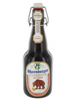 Ahornberger Landbier dunkel - MHD 02.12.2016  (500 ml) - 4005446002270