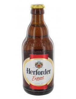 Herforder Export  (330 ml) - 4103960302712